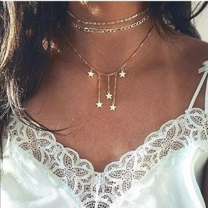 New Item✨ Multilayered Star Charm Necklace's 😍✨